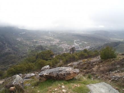 Olivares subiendo hacia Moclín