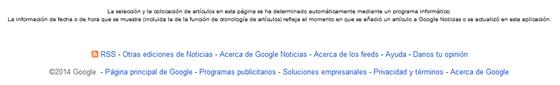 Icono RSS Google News
