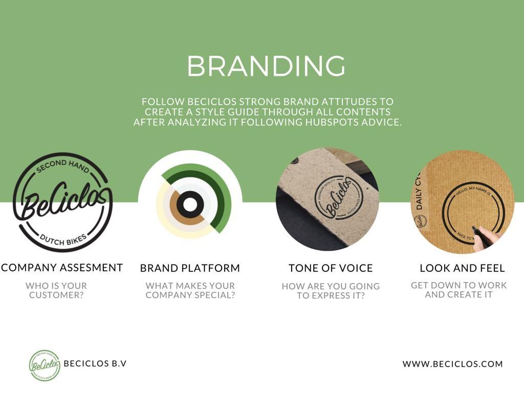 BeCiclos Branding