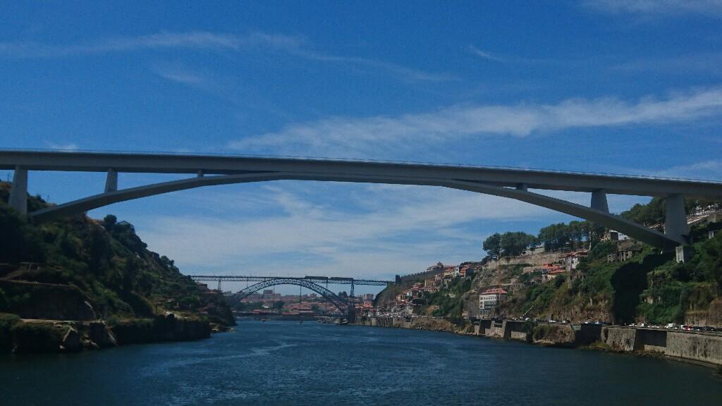 Puentes sobre el Duero en Oporto