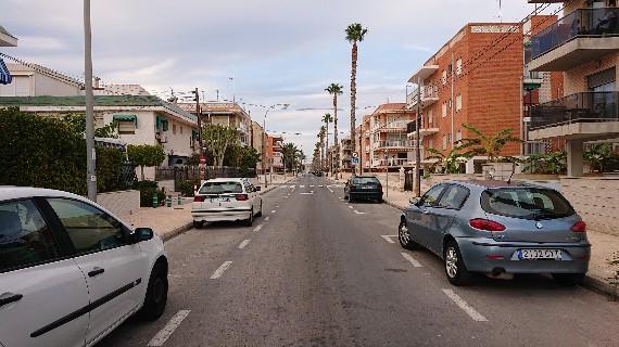calle vacia